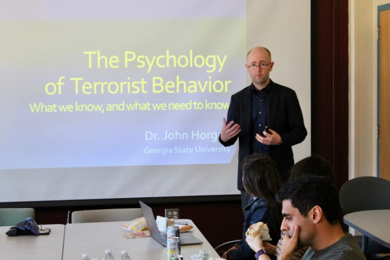 The Psychology of Terrorist Behavior  by Dr. John Horgan